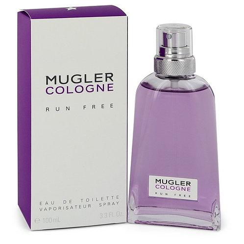 Mugler Run Free by Thierry Mugler 3.3 oz Eau De Toilette Spray (Unisex)