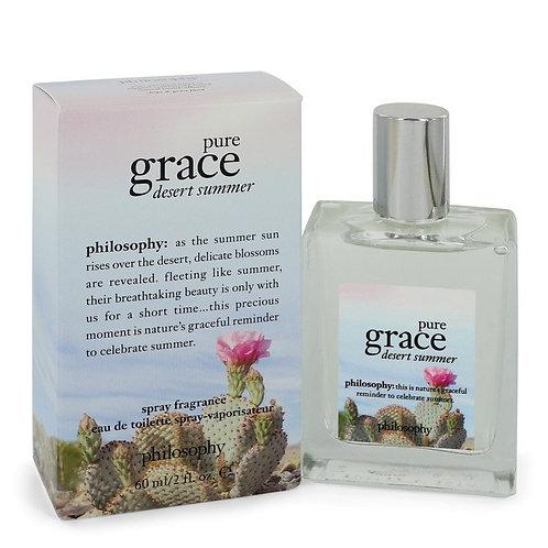Pure Grace Desert Summer by Philosophy 2 oz Eau De Toilette Spray