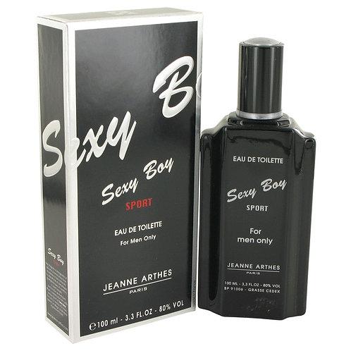 Sexy Boy Sport by Jeanne Arthes 3.4 oz Eau De Toilette Spray