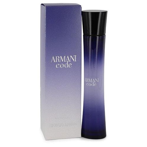 Armani Code by Giorgio Armani 2.5 oz Eau De Parfum Spray