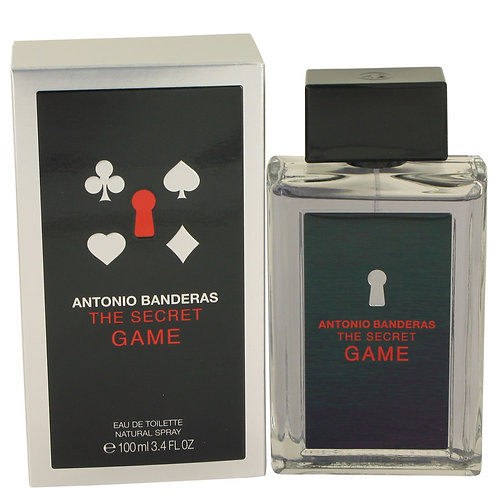 The Secret Game by Antonio Banderas 3.4 oz Eau De Toilette Spray