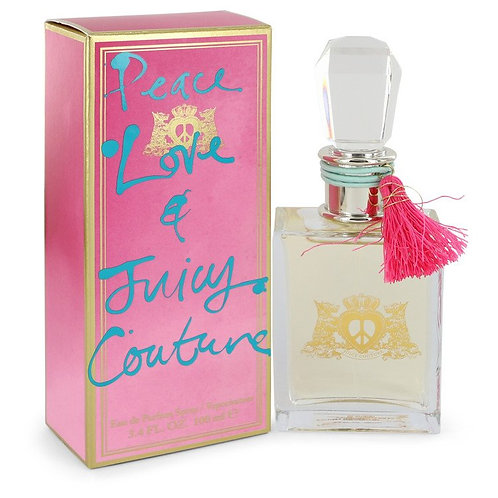 Peace Love & Juicy Couture by Juicy Couture 3.4 oz Eau De Parfum Spray