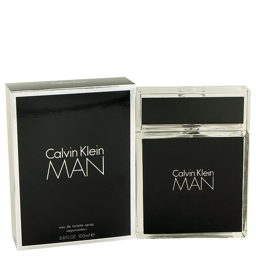 Calvin Klein Man by Calvin Klein 3.4 oz Eau De Toilette Spray for men