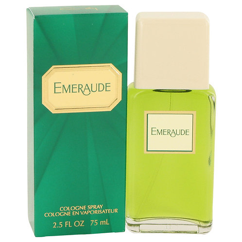 Emeraude by Coty 2.5 oz Cologne Spray for women