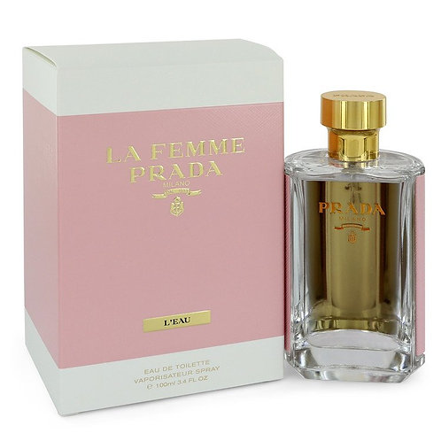La Femme L'eau by Prada 3.4 oz Eau De Toilette Spray