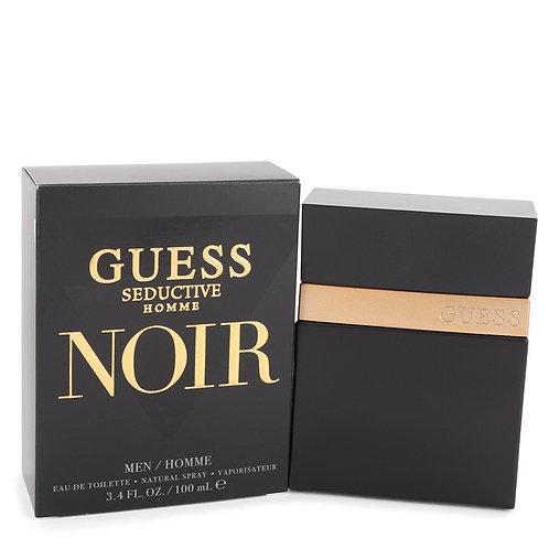Guess Seductive Homme Noir by Guess 3.4 oz Eau De Toilette Spray