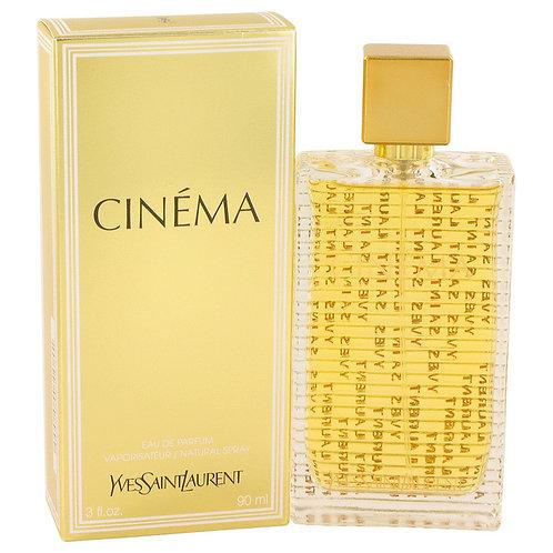 Cinema by Yves Saint Laurent 3 oz Eau De Parfum Spray for women