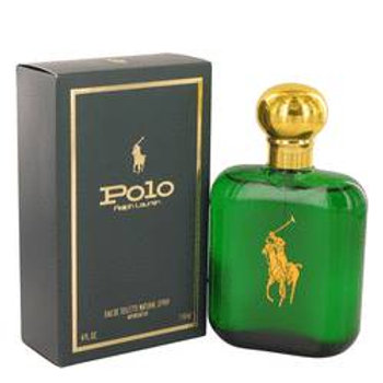 Polo by Ralph Lauren 4 oz Eau De Toilette / Cologne Spray