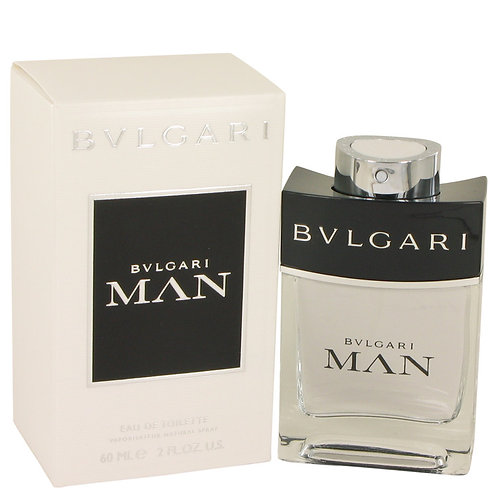Bvlgari Man by Bvlgari 2 oz Eau De Toilette Spray