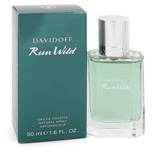 Davidoff Run Wild by Davidoff 1.6 oz Eau De Toilette Spray