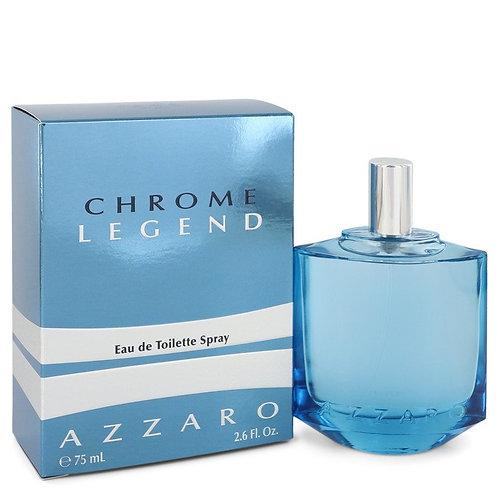 Chrome Legend by Azzaro 2.6 oz Eau De Toilette Spray