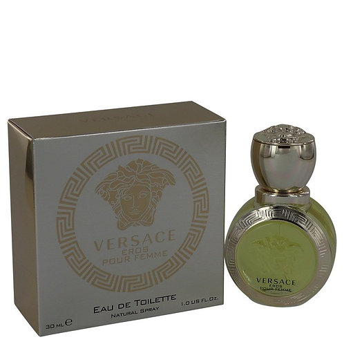 Versace Eros by Versace 1 oz Eau De Toilette Spray for women