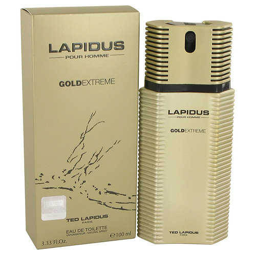 Lapidus Gold Extreme by Ted Lapidus 3.4 oz Eau De Toilette Spray