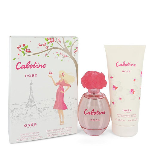 Cabotine Rose by Parfums Gres Gift Set