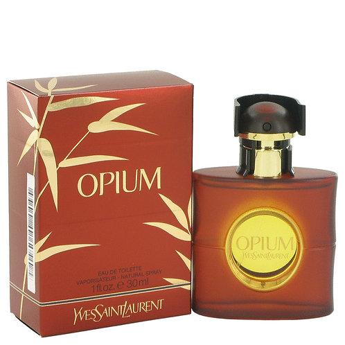 Opium by Yves Saint Laurent 1 oz Eau De Toilette Spray