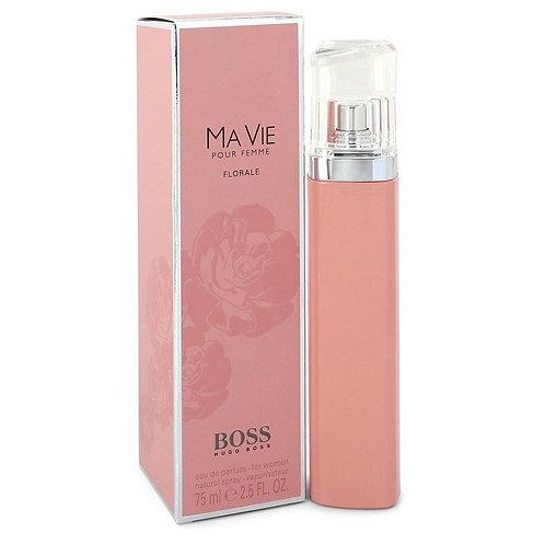 Boss Ma Vie Florale by Hugo Boss 2.5 oz Eau De Parfum Spray
