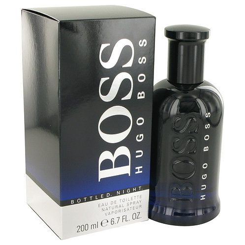Boss Bottled Night by Hugo Boss 6.7 oz Eau De Toilette Spray