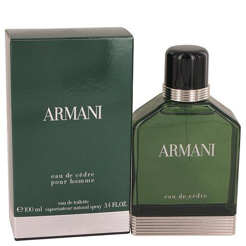 Armani Eau De Cedre by Giorgio Armani 3.4 oz Eau De Toilette Spray