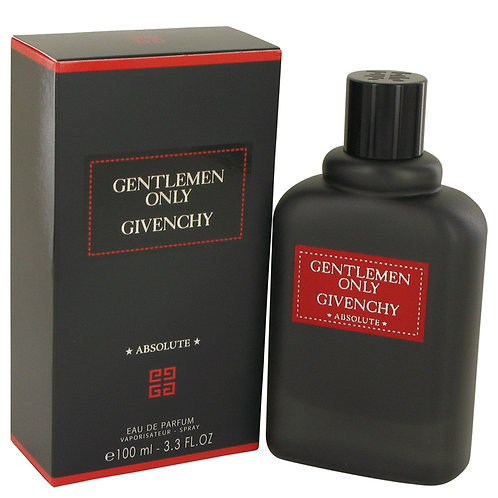 Gentlemen Only Absolute by Givenchy 3.3 oz Eau De Parfum Spray
