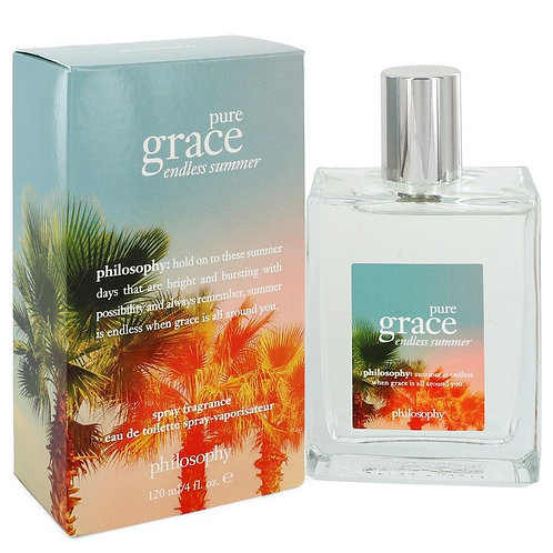 Pure Grace Endless Summer by Philosophy 4 oz Eau De Toilette Spray