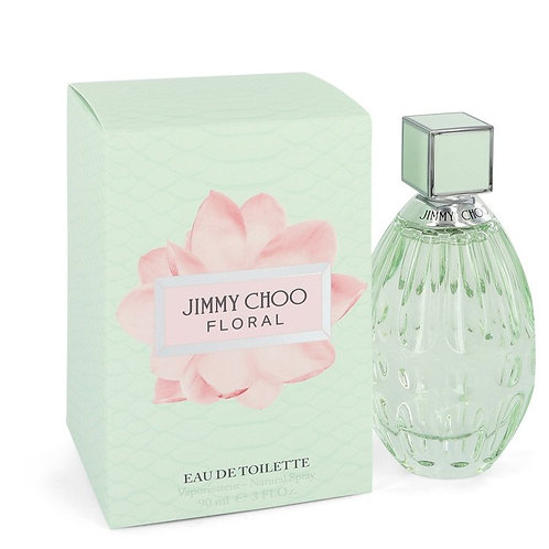 Jimmy Choo Floral by Jimmy Choo 3 oz Eau De Toilette Spray