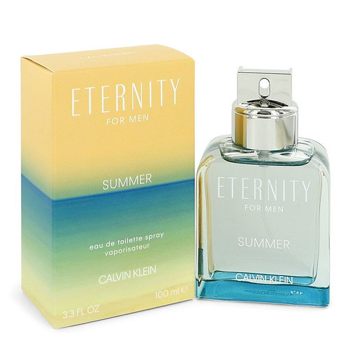 Eternity Summer by Calvin Klein 3.3 oz Eau De Toilette Spray