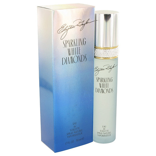 Sparkling White Diamonds by Elizabeth Taylor 1.7 oz Eau De Toilette Spray