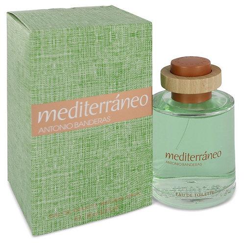 Mediterraneo by Antonio Banderas 3.4 oz Eau De Toilette Spray