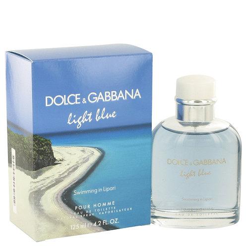 Light Blue Swimming In Lipari by Dolce & Gabbana 4.2 oz Eau De Toilette Spray