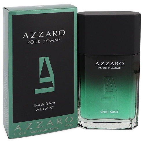 Wild Mint by Azzaro 3.4 oz Eau De Toilette Spray