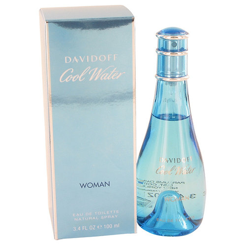 Cool Water by Davidoff 3.4 oz Eau De Toilette Spray