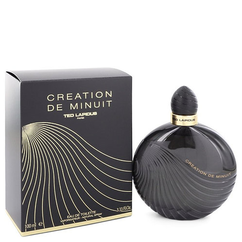 Creation De Minuit by Ted Lapidus 3.3 oz Eau De Toilette Spray