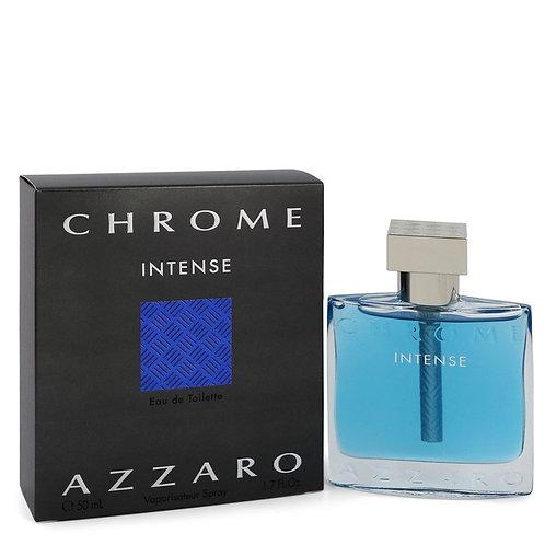 Chrome Intense by Azzaro 1.7 oz Eau De Toilette Spray