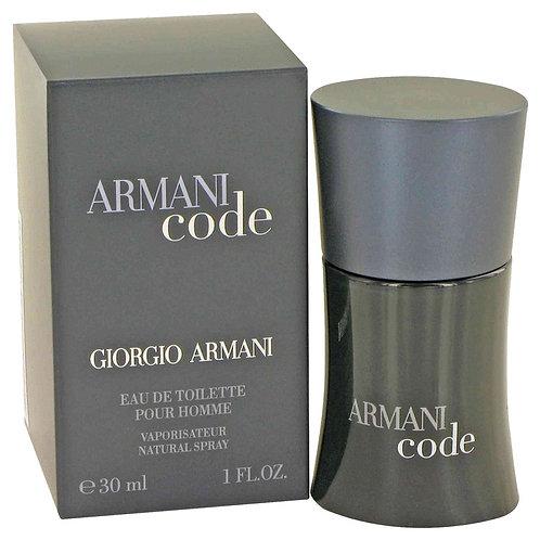 Armani Code by Giorgio Armani 1 oz Eau De Toilette Spray
