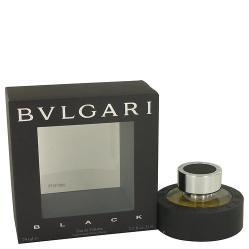 Black by Bvlgari 2.5 oz Eau De Toilette Spray (Unisex)