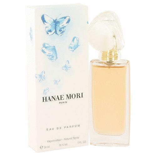 Hanae Mori by Hanae Mori 1 oz Eau De Parfum Spray (Blue Butterfly)
