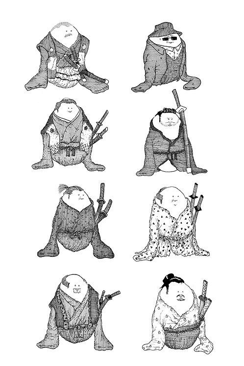 Seven Samurai Eggs