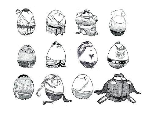 Street Fighter 2 Eggs