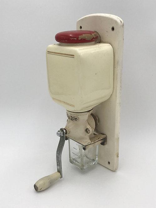オランダ アンティークコーヒーグラインダー 赤