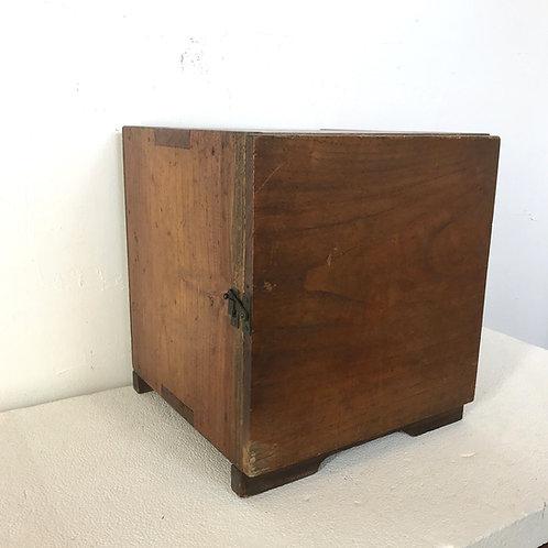 木製レコードケース