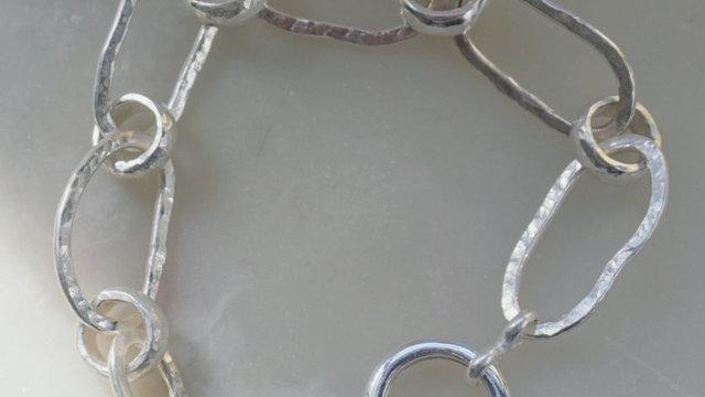 Chunky Oblong Bracelet