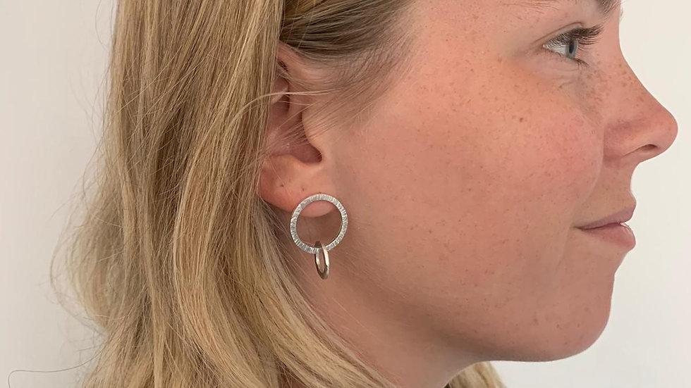 Flat Link Earrings