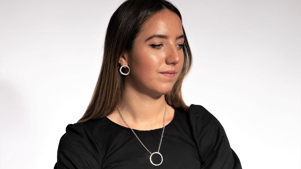 Flat Circle Necklace
