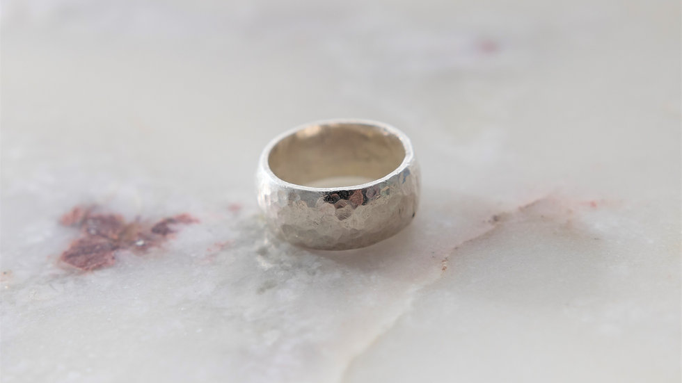 Chunky Speckled Ring