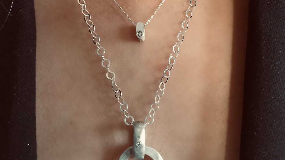 Chunky Diamond Necklace