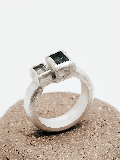 Blue Square Ring
