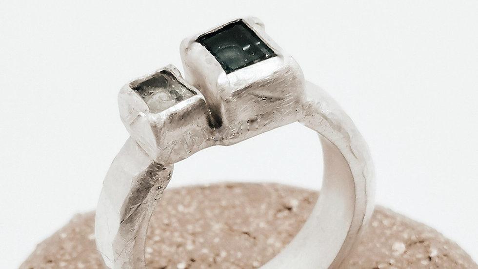 Blue Square Ring