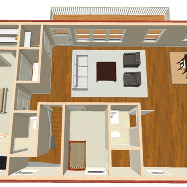 Re-envisioned Floor Plan