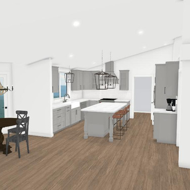 Concept Kitchen/Dining Space