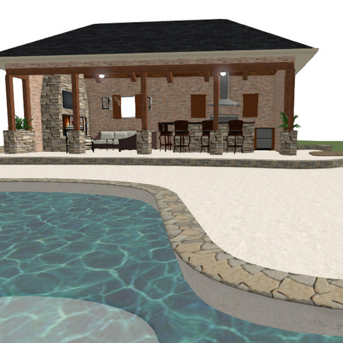 Concept Pool House